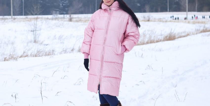 Зимний пуховик в красивом цвете Nagodo - отзыв покупателя