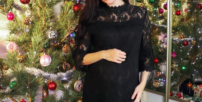 Элегантное кружевное платье TAOYIZHUAI - отзыв покупателя