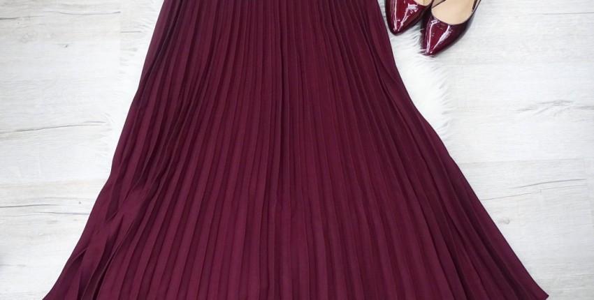 Шикарная плиссерованная юбка - отзыв покупателя
