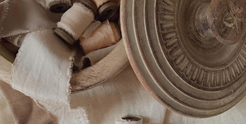 Ленты из шелка и бархата для свадебных букетов, упаковки и утонченного декора. - отзыв покупателя