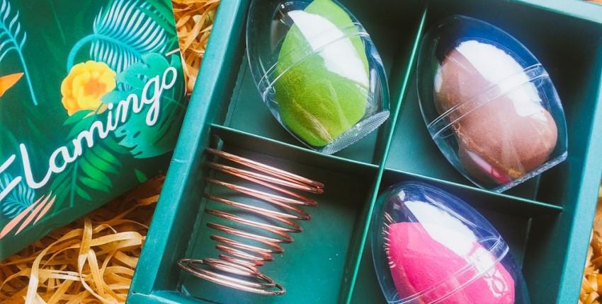 Мой приз за участие в конкурсе от Мегабонус-обзоры. Набор спонжей в подарок или для себя любимой. - отзыв покупателя