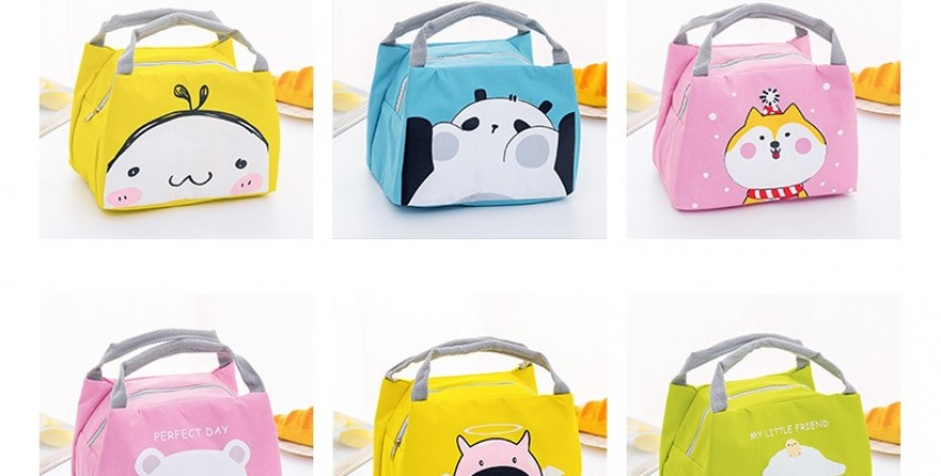 Cartoon Cute Lunch Bag For Women Girl Kids Children Thermal Insulated Lunch Box Tote - User's review