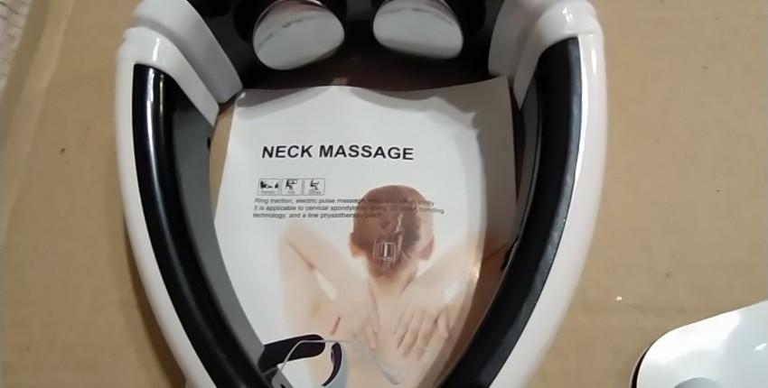 Электрический массажер для шеи и пульс  и спины - отзыв покупателя