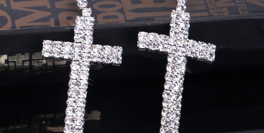 Шикарные серьги -кресты от BLIJERY - отзыв покупателя