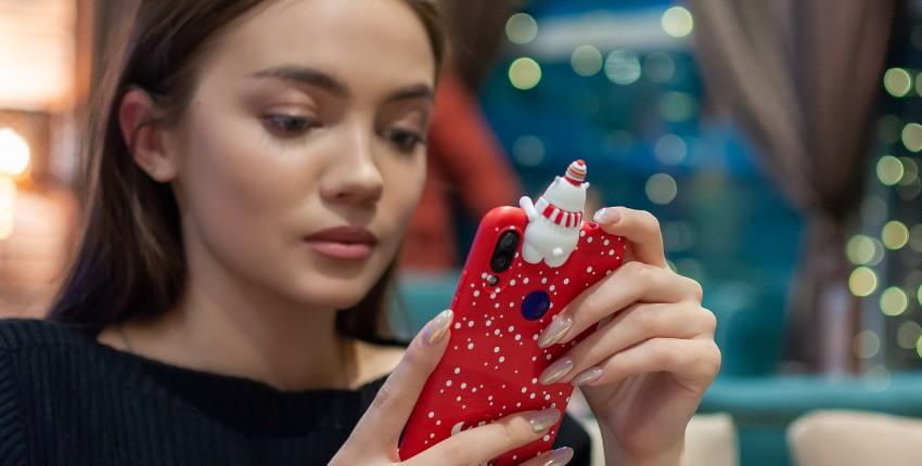 Чехол для телефона с объемным мишкой - отзыв покупателя