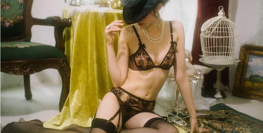 Комплект пикантного женского белья - отзыв покупателя
