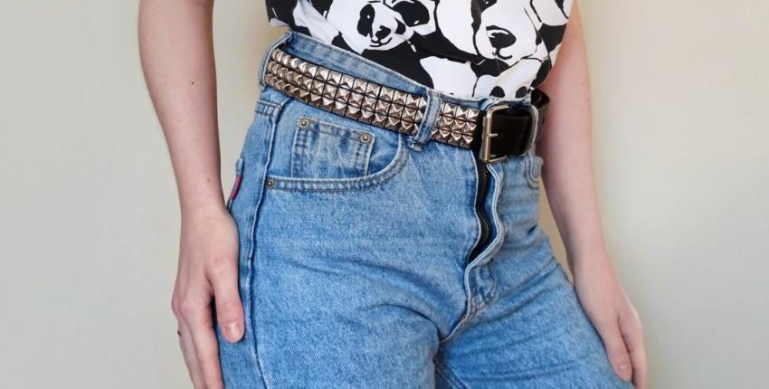 Кожаный ремень с заклёпками от fashionaccessoriesclub Store - отзыв покупателя