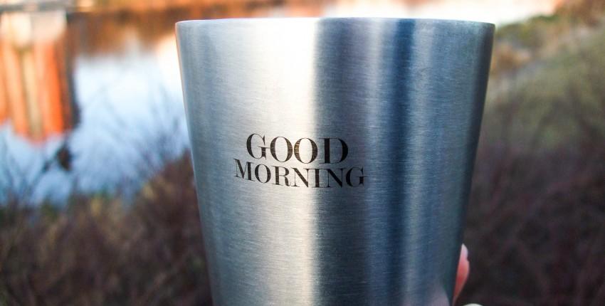 Брутальный стакан с добрым пожеланием - отзыв покупателя