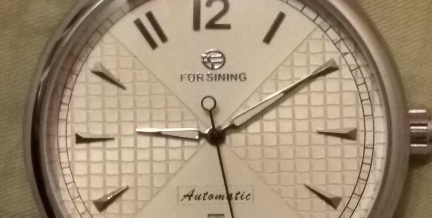 Часы механические автоматические FORSINING - отзыв покупателя