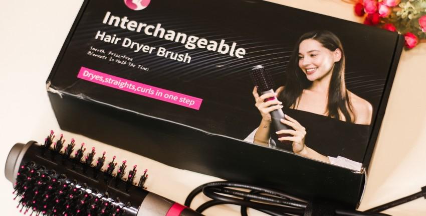 Фен - щётка для волос от LISA PRO - отзыв покупателя