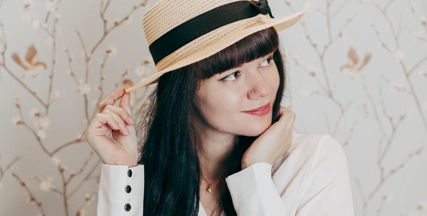 соломенная шляпка-канотье WORSICO - отзыв покупателя