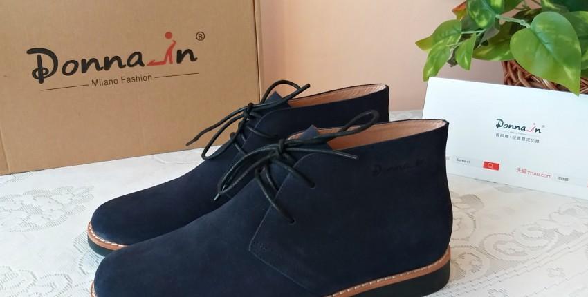 Женские замшевые ботинки от Donna-in. - отзыв покупателя