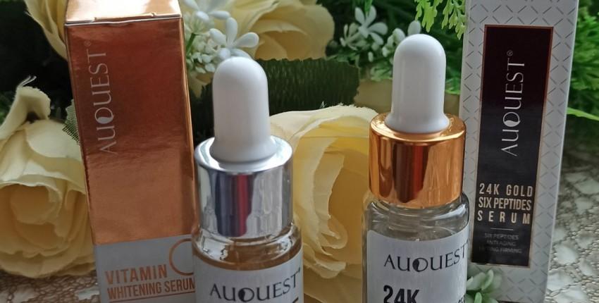 Комплексный уход за кожей лица от AuQuest. Увлажнение  отбеливание. - отзыв покупателя