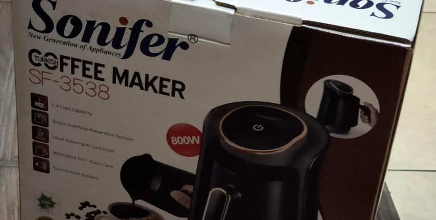 Удобная кофеварка электро-турка- быстро, просто, без хлопот.