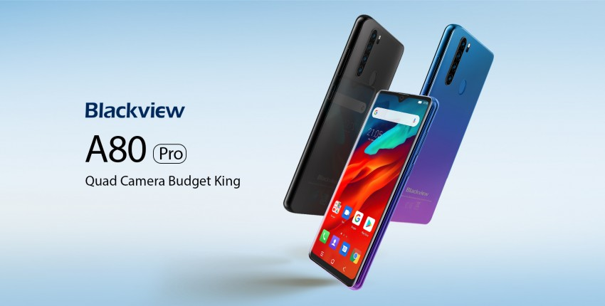 Крутой бюджетник, с aliexpress, Blackview A80 Pro Quad Rear Camera - отзыв покупателя