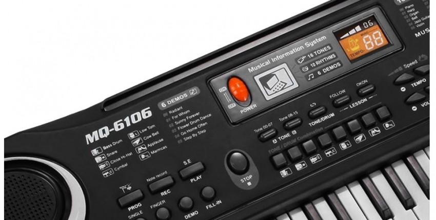 Многофункциональная электронная клавиатура-пианино с микрофоном - отзыв покупателя