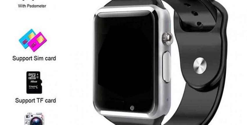 Смарт часы спортивные наручные часы с камерой. - отзыв покупателя
