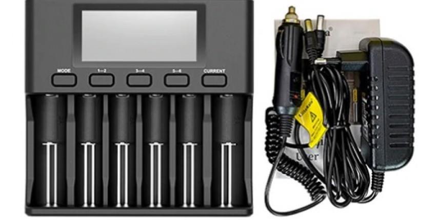 Lii500s зарядное устройство для 18650, 26650, 21700 - отзыв покупателя
