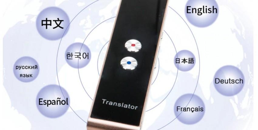 Портативный карманный умный многоязычный переводчик  Bluetooth. - отзыв покупателя