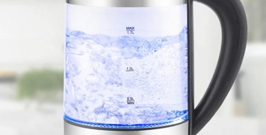 Электрический Чайник Haier HEK-143 с подсветкой 1.7л, стекло