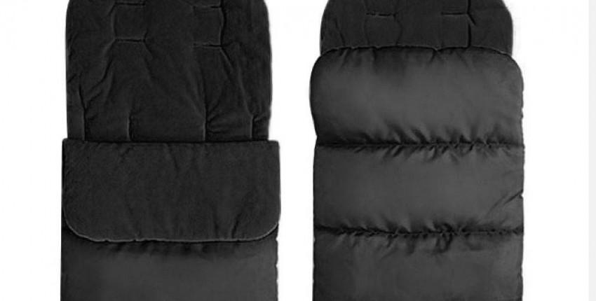 Зимняя универсальная муфта для, ног для малышей. Удобный фартук с пальцами, подкладка для коляски. - отзыв покупателя