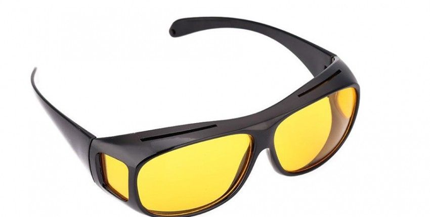 Очки для вождения автомобиля, поляризованные солнцезащитные очки ночного видения. - отзыв покупателя