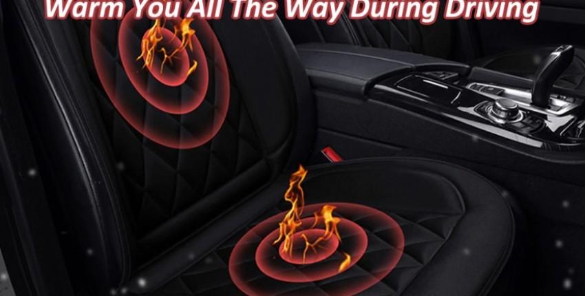 Автомобильная подушка сиденья с подогревом. 2 шт 12 В.