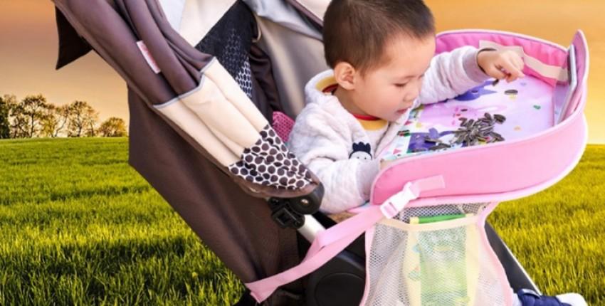 Автомобильный детский поднос, портативный многофункциональный  держатель для детских игрушек.