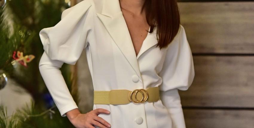 Элегантное платье-пиджак от Whatiwear Official Store - отзыв покупателя