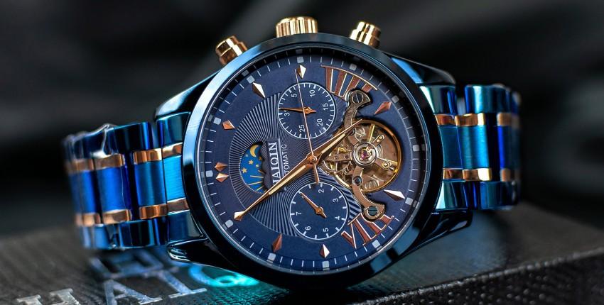 Мужские механические наручные часы с AliExpress - отзыв покупателя