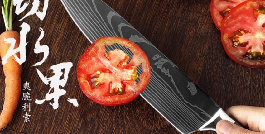 Топ лучших кухонных ножей с Алиэкспресс. - отзыв покупателя