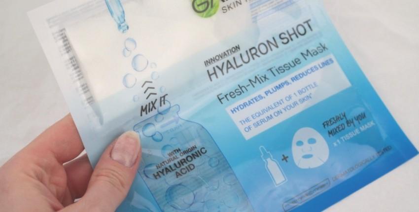 Тканевая маска Garnier с гиалуроновой кислотой - отзыв покупателя