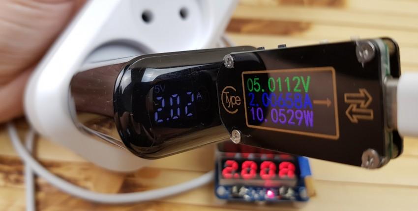 Зарядное устройство Uslion: 18 Вт PD 3.0, поддержка QC 3.0/AFC/FCP и информационный LED-экран - отзыв покупателя