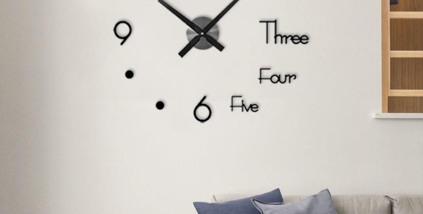 3D настенные часы - отзыв покупателя