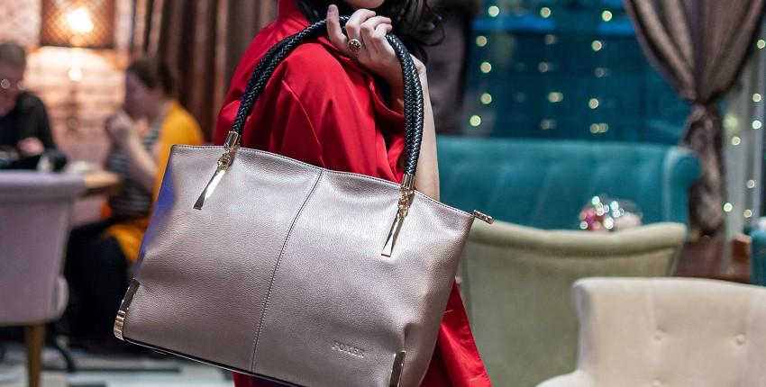 Кожаная сумка Foxer - отзыв покупателя