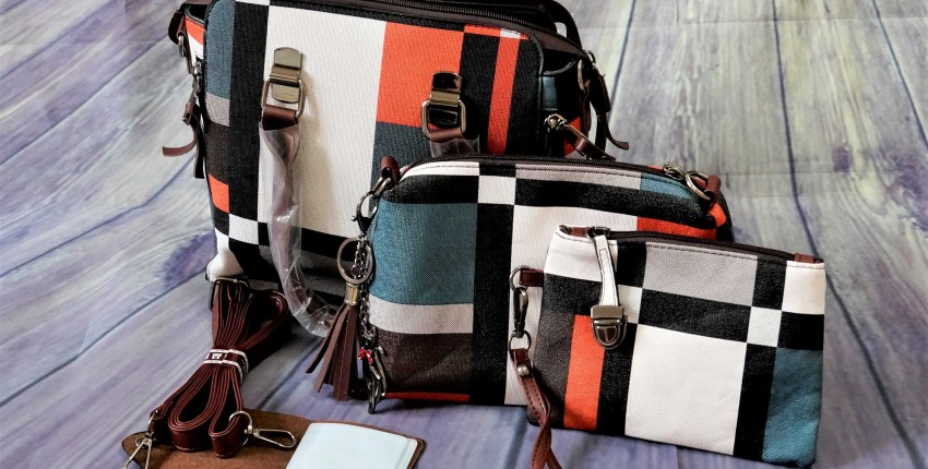 Качественный набор женских сумок - отзыв покупателя