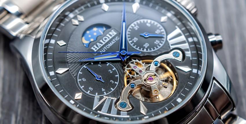 Мужские механические наручные часы с автоподзаводом - отзыв покупателя