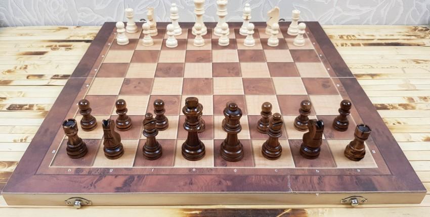 Классические настольные игры с деревянными фигурками: шахматы, шашки, нарды - отзыв покупателя