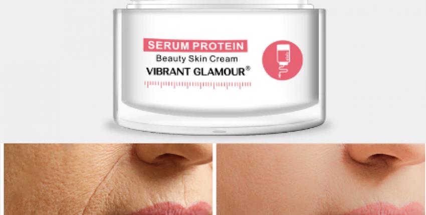 Протеиновый крем-сыворотка для лица Vibrant Glamour. - отзыв покупателя