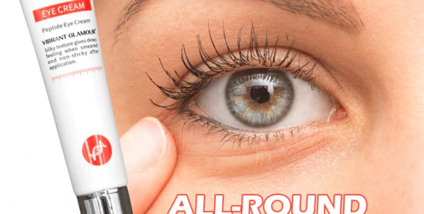 Крем-сыворотка для кожи вокруг глаз c пептидами и коллагеном  Vibrant Glamour. - отзыв покупателя