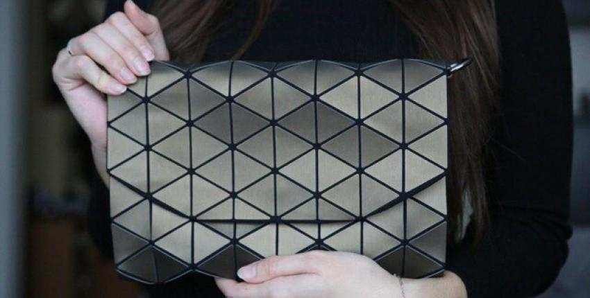 Геометрическая женская сумка-клатч - отзыв покупателя