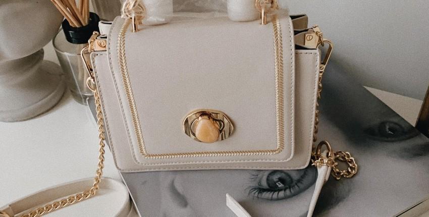 Женственная сумка на лето цвета слоновой кости. - отзыв покупателя