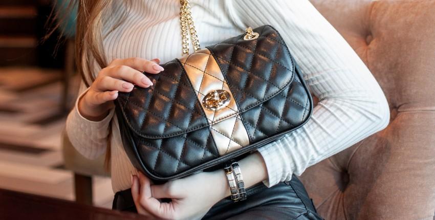 Моя новая кожаная стеганая сумочка Foxer - отзыв покупателя
