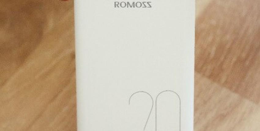 Power Bank ROMOSS на 20000mAh - отзыв покупателя