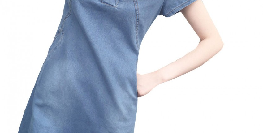 Джинсовое платье - отзыв покупателя