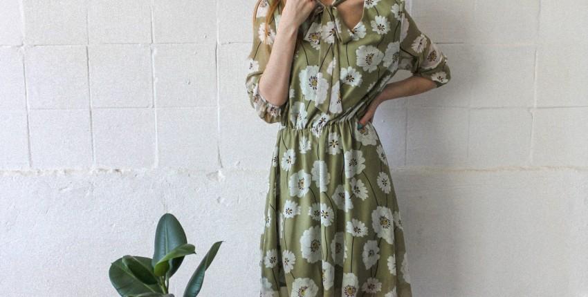Летнее платье приятного нежно-зеленого цвета - отзыв покупателя