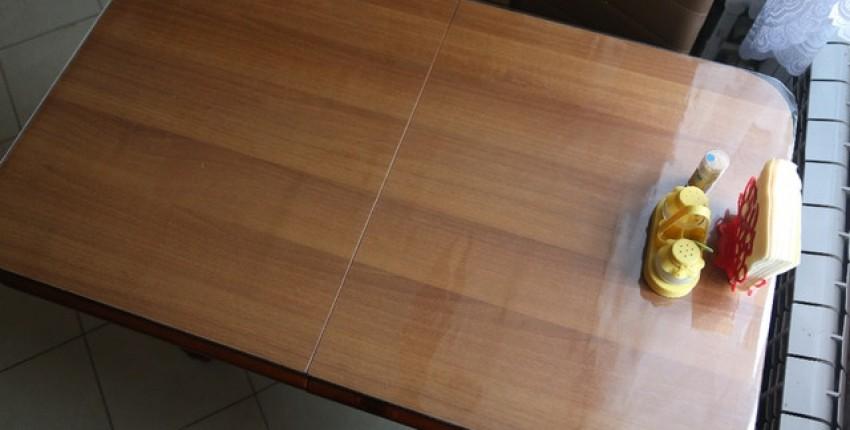Прозрачная плотная силиконовая скатерть - отзыв покупателя