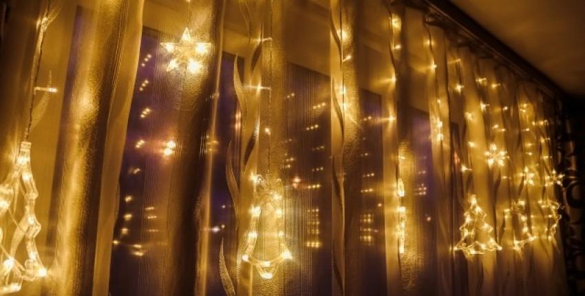 Красивая новогодняя светодиодная гирлянда - отзыв покупателя