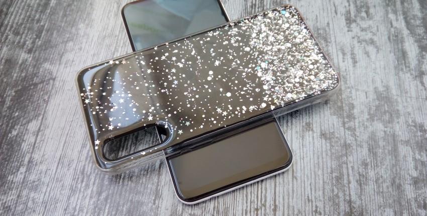 Блестящий чехол со звездочками для Samsung Galaxy A30S - отзыв покупателя