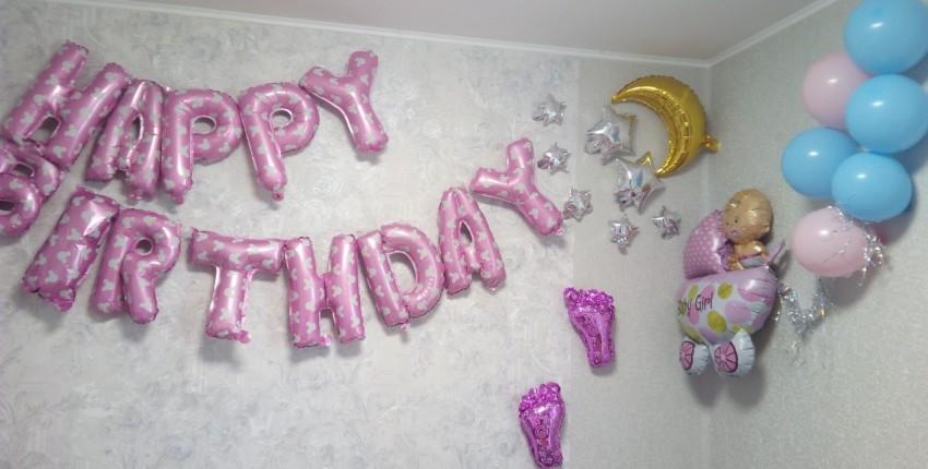 Happy Birthday С Днем Рождения - Воздушные шары - отзыв покупателя